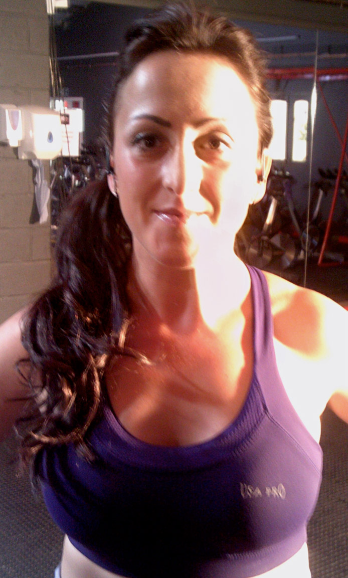 Natalie Cassidy Fitness Dvd Hair And Makeup Victoria